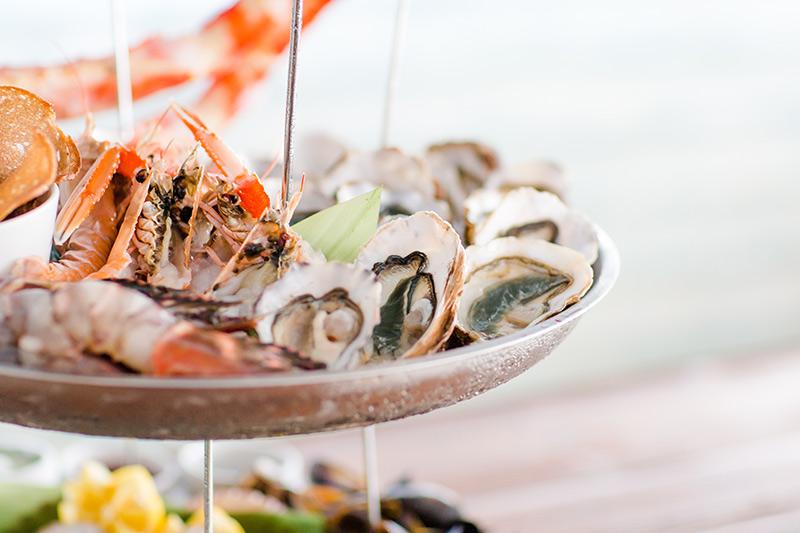 Menus de poissons et plateaux de fruits de mer à partager à Biarritz | Chez Albert